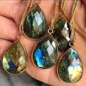 Jewelry - Boho Nebula Teardrop Necklaces